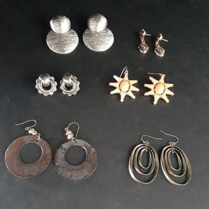 Vtg fashion earring bundle